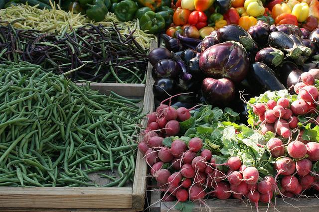 Verduras orgánica o naturales, libres de pesticidas (Usuario en Flickr: Cliff)