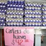 Acuerdo entre supermercados y gobierno encareció el huevo y lo desapareció