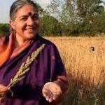 """Llama Vandana Shiva a parar la biopiratería, """"nuevo colonialismo"""""""