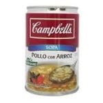 Radiografía de… Sopa Campbells pollo con arroz (298 g., una lata)