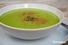 Recetas Ecológicas: Sopa fría de legumbres verdes
