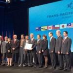 México firmó ya el ATP, entre protestas en Nueva Zelanda