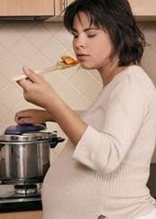 cocinar embarazo, cooking, pregnancy