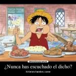 ¿Por qué comes si no tienes hambre?