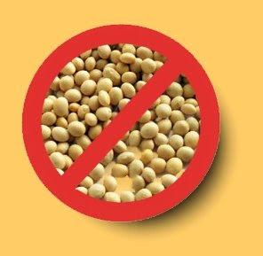 prohibir soja, soy ban