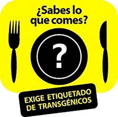 sabes lo que comes, know what you eat