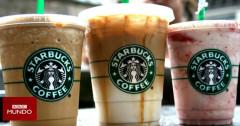 """""""Escandalosos"""" los niveles de azúcar en las bebidas de las cadenas de cafeterías"""